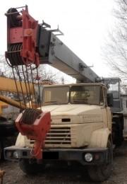 Продаем автокран Силач КС-4574, 20 тонн, КрАЗ 65101, 1993 г.в. title=