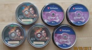 "Диски  DVD+R Verbatim 4.7Gb 16X  и DVD-R  ""Pirates   of the Carribean"" title="