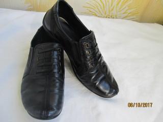 Кожаные туфли,мокасины на мальчика .34. title=