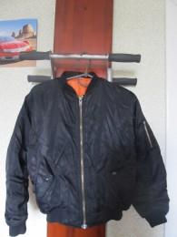 Демисезонная куртка бомбер.146-152. title=