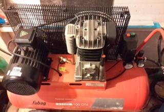 Компрессор воздушный fubag B3800B,100л,380v476Л./М title=
