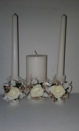 Весільні свічки  title=