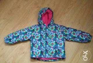 Термокуртка для девочки KIKI&KOKO Германия р.104 title=
