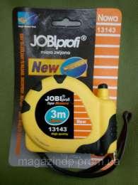 рулетка строительная (измерительная) 3м. jobi p title=