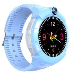 Детские сенсорные смарт часы с GPS и WiFi S02 title=