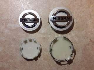 Колпачки (заглушки) в литые диски Nissan title=