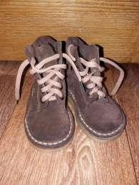 Демисезонные ботинки (натуральный нубук) title=
