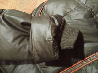 Новый пуховик натуральный мех, пальто зимнее
