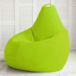 Кресло груша из ткани Пера недорого