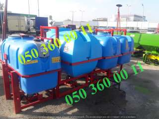 Оп 600-800-1000 литров + кардан  Опрыскиватели различного объема title=