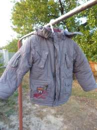 Зимняя куртка для мальчика title=