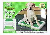Туалет для собак Puppy Potty Pad - Позаботьтесь о комфорте своего пито title=