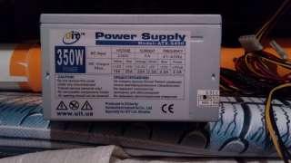 Блок питания ПК UIT 350W ATX-S400 б/у title=