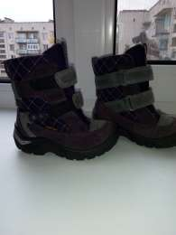 Зимние ботинки Экко Gore-Tex р. 22, 580 грн title=