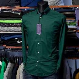 купити по розпродажі чоловічі сорочки Polo Ralph Lauren однотонна title=