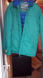 Ярко-зеленая куртка на мальчика title=