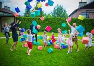 Детский день рождения. Мыльные пузыри. Химическое шоу. Аниматоры. title=
