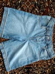 Шорты джинсовые на 5-6 лет