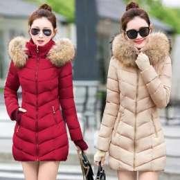 Зимняя куртка кремового цвета,размер М/зимова куртка ,розмір М title=