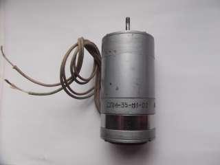 Электродвигатель ДПМ-35-Н1 коллекторный 27v. title=