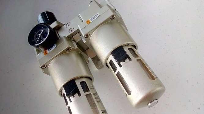 Фільтр-регулятор повітря для компресора, прохід G1, 6400 л/хв. - зображення 5