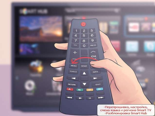 Прошивка, настройка LG и Samsung Smart TV; Разблокирование Смарт Hub