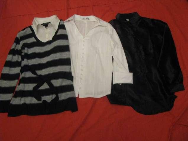 Блузки женские - 3 шт. - размер 52-54 - Б/У.