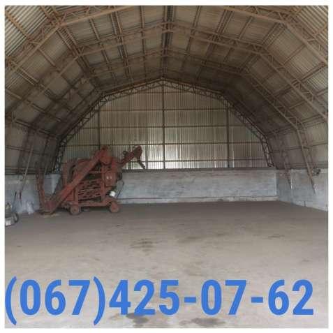 Ангар - зернохранилище 12х51м