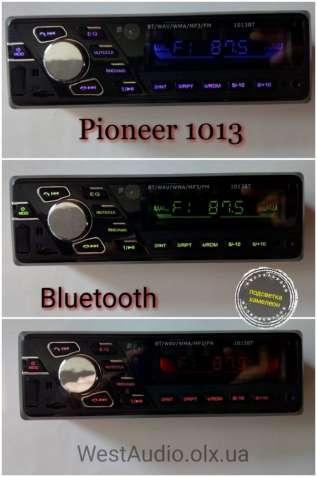 Bluetooth магнитола Pioneer 1013 /usb/sd/aux/подсветка хамелеон