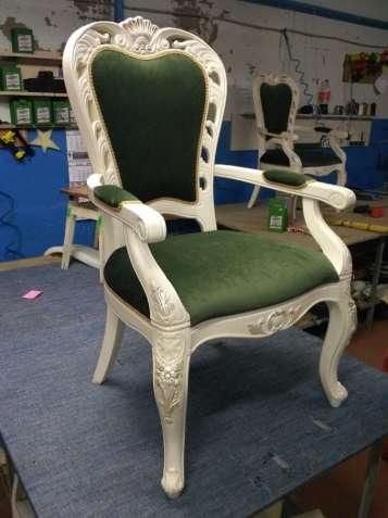 Реставрация мебели - перетяжка, пиковка, замена мебельной фурнитуры