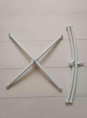 Крестовина основа для детского мобиля на кроватку. Хрестовина.