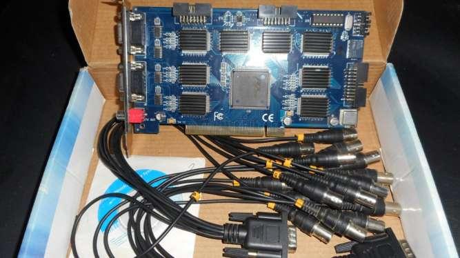 Система Видео Контроля  реал тайм 16 каналов на основи PC