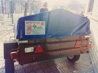 """Легковой прицеп ЛЕВ-16 от завода-производителя """"Кремень плюс"""" title="""