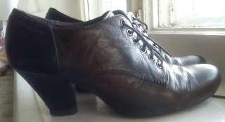 Закрытые осенние туфли (полуботинки) VAGABOND. Кожа.