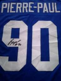 Продам футболку PIERRE-PAUL, с автографом. title=