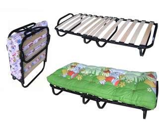 Детская раскладушка, детская раскладная кровать title=