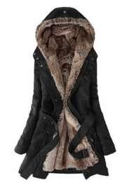 Женщин теплое зимнее пальто куртка шинель длинные куртки title=