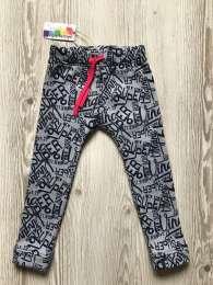 Теплые фирменные штаны для девочек от Bright Berries title=