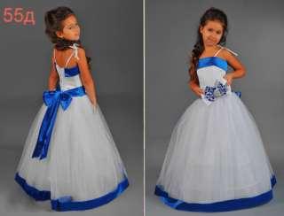 Нарядное платье для девочки 55д (все размеры) title=