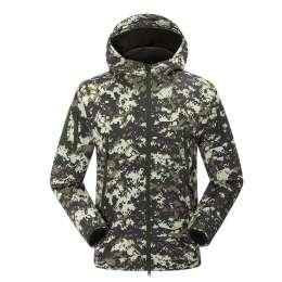 Водонепроницаемый Пустой Tactical Softshell куртка  title=