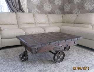стол в стиле лофт title=