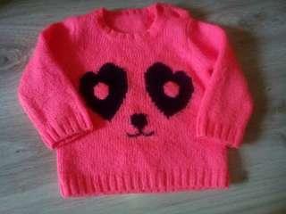 Мягусенький свитер Панда title=