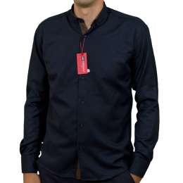 Red Polo,  чоловіча сорочка синього кольору, тканина лакоста, туреччин title=