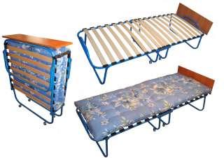 Розкладачка-ліжко з поличкою (раскладушка, раскладная кровать) title=