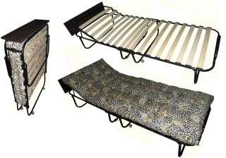 Розкладачка-ліжко з поличкою і підголовником (раскладная кровать) title=