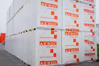 Блоки (плити) для утеплення Aeroc Energy (Аерок Енерджі) title=