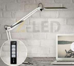 Настольная лампа светодиодная 10Вт с регулировкой яркости