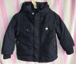Куртка детская с капюшоном, на ребенка 9-12 месяцев. Турция. title=