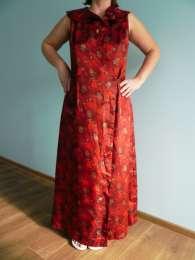 Атласный халатик для модниц размера L или беременым доставка в подарок title=