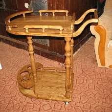 Столик кавовий, столик серверовочный, столик журнальный. title=